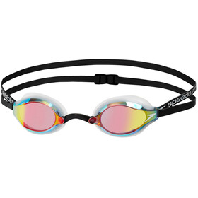 speedo Fastskin Speedsocket 2 Mirror Goggles, white/rose gold